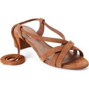 Sandals Tabitha Simmons Belen beige size 38.5 EU